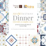 Architecture Dinner a Genova Pegli